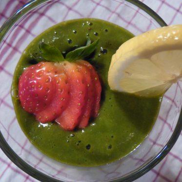 Erdbeer-Spinat Surprise