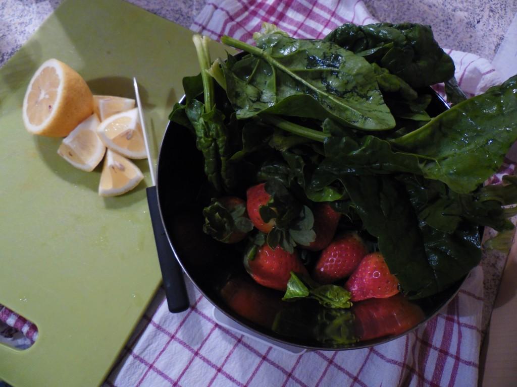 Erdbeer-Spinat Surprise 2