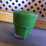 Kaki-Grün-Smoothie