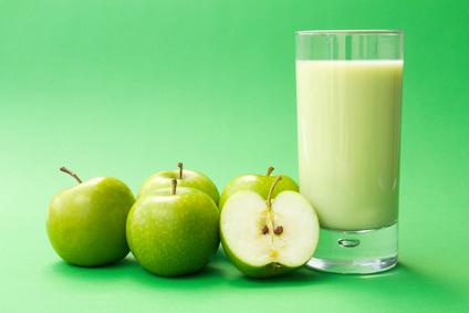Grüner Apfel Smoothie