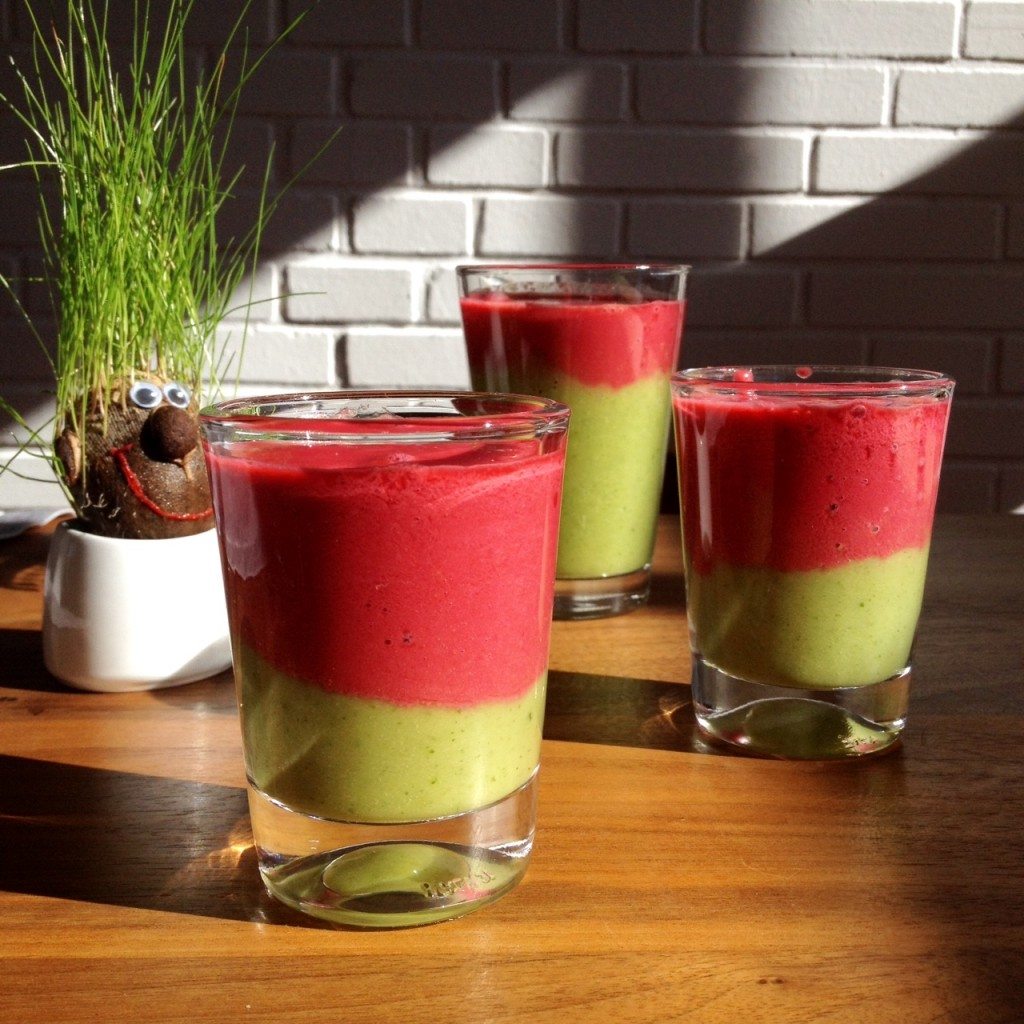 Doppeldecker Smoothie 1